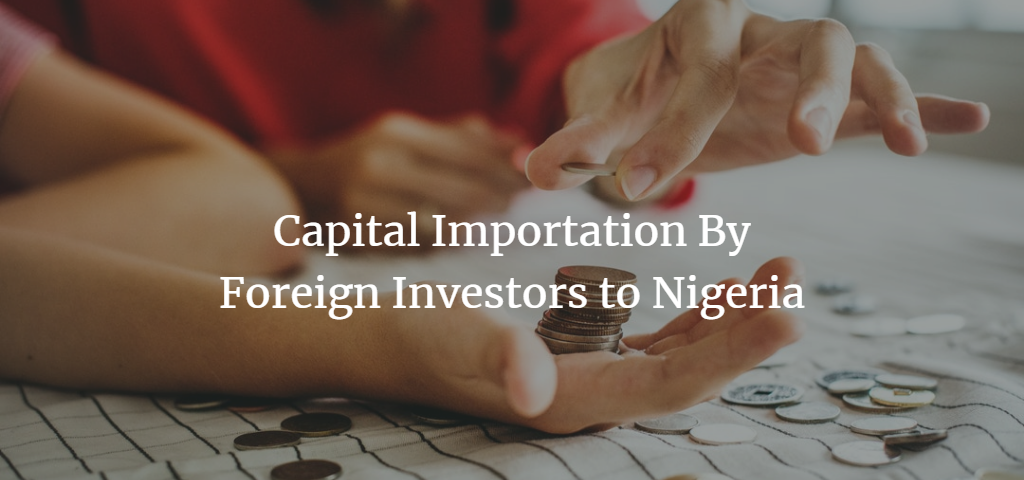 capital importation in nigeria