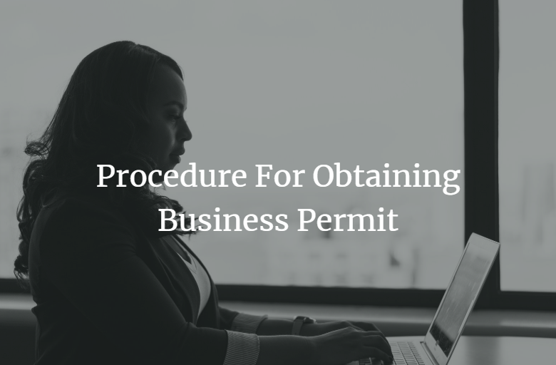 procedure for obtaining business permit